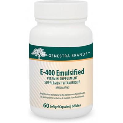 Vitamine E-émulsifiée 400 UI