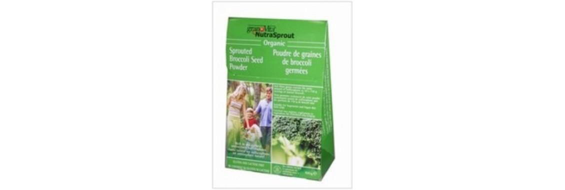 Pousses de brocoli germé