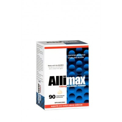 Allimax-180mg - allicine stabilisé 100%, 90 caps