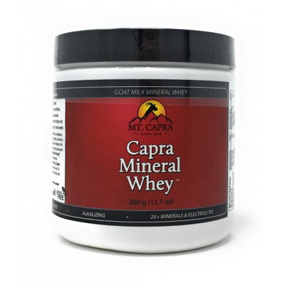 Capra Mineral Whey, 360g