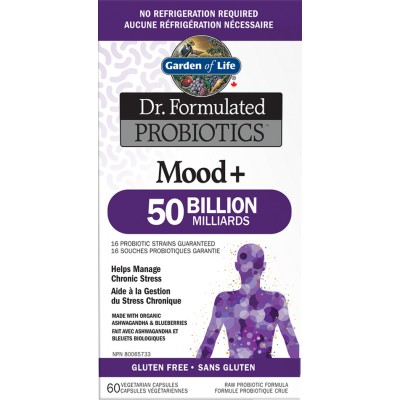 Dr. Formulated Probiotics Mood +  60 Vcaps