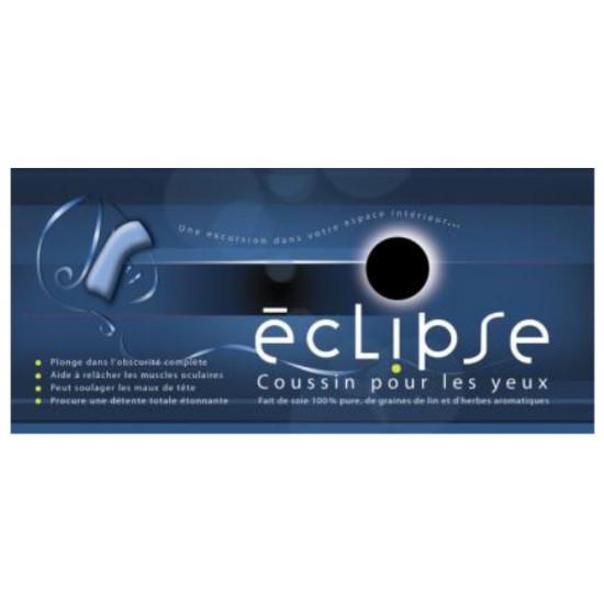 Éclipse - Coussin pour les yeux en soie