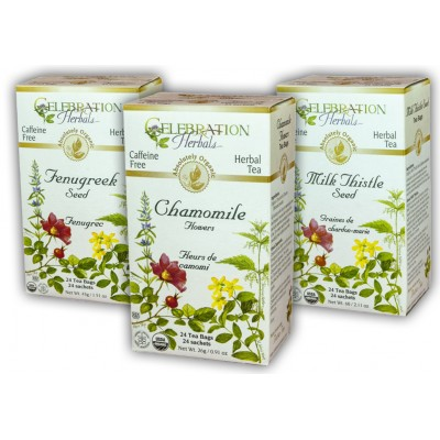 Tisanes Celebration Herbals - les Combos