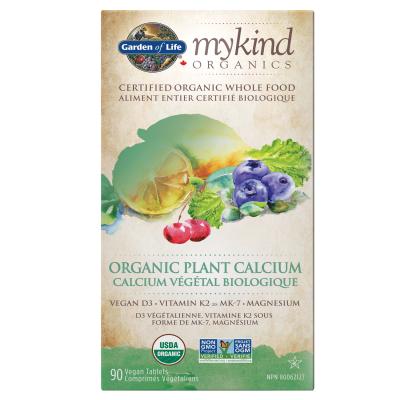 myKind Organics - Calcium Végétal Biologique